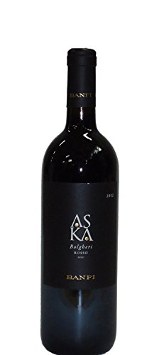 Bolgheri D.O.C. Aska 2016 Castello Banfi Rosso Toscana 13,5%
