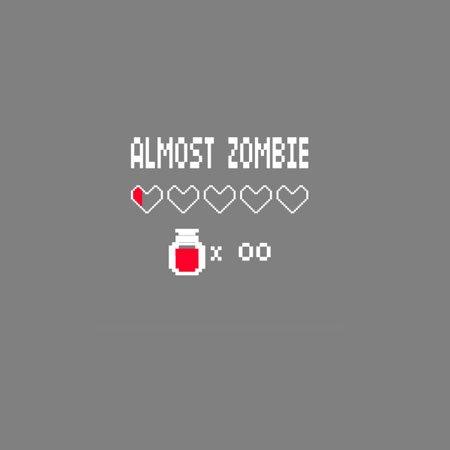 TEXLAB - Almost Zombie - Langarm T-Shirt Dunkelblau