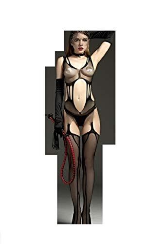Netz Anzug, Damen, schwarze Spitze, durchsichtige Strumpfhose, Gr. S/M 34,36,38 Ganzkörper, langarm, Netz Strumpfhose, sexy, Fetisch Catsuit 64
