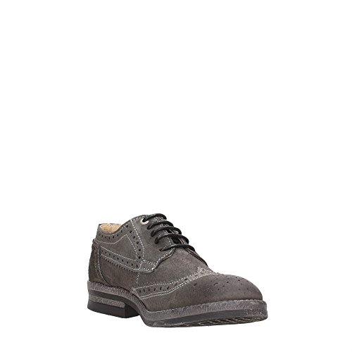 Wrangler  Stone Brogue, Chaussures de ville à lacets pour homme - - TAUPE Dark Grey