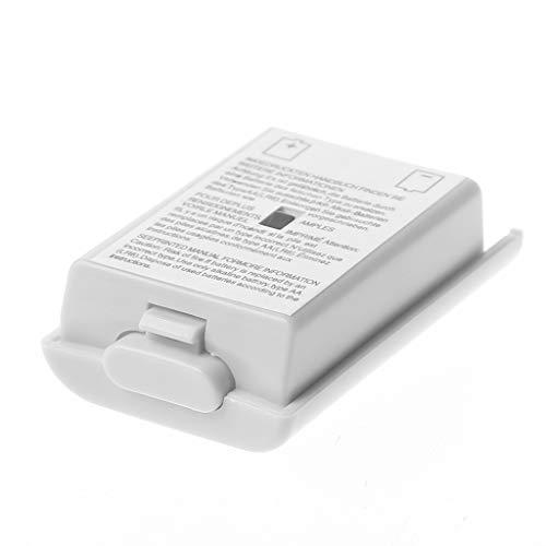 GROOMY 1 stück AA Batterie rückseitige Abdeckung case Shell Pack weiß für Xbox 360 Wireless Controller - Tetris Xbox Spiele 360