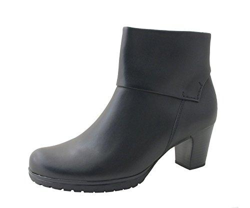 Gabor Comfort Stivali Donna St.Tropez 32.981.57 nero, formato 37-40,5, larghezza G, comma 4,5 cm, pelle schwarz