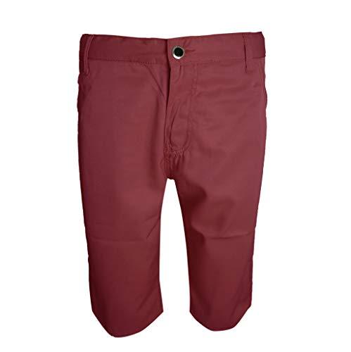 Sommer Mid Rise Herren Mode Lose Beiläufige Fans Einfarbige Hosen Summer mid Rise Loose Casual Fans in solid Color Pants Khaki Schwarz Blau Rot 28/29/30/31/32/33/34/36/38