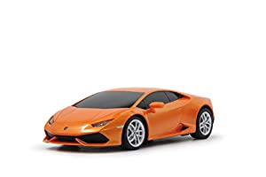 Jamara Lamborghini Huracan - Juguetes de Control Remoto (Alcalino, AA, 2 x AA, 18,6 cm, 9,3 cm, 5 cm) Naranja