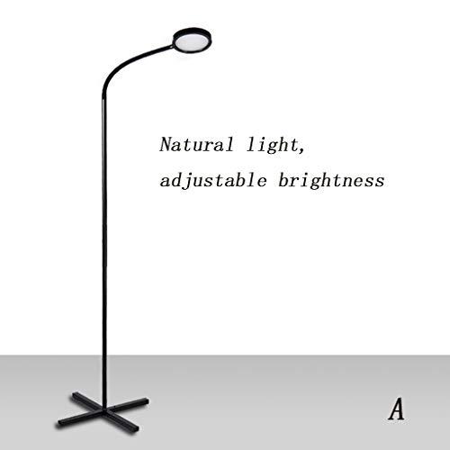 Home&Lighting LED Vertikale Tischlampe Stehleuchte Fernbedienung Schlafzimmer Wohnzimmer Studie Nordic Modern Piano Reading Eye Lampe 105 cm (Farbe : A)