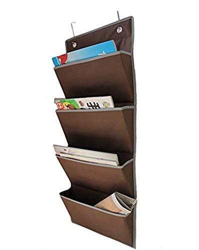 Bekith Magazinboard, Hängeorganizer, Stoffregal, Zeitungshalter