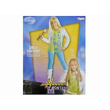 Hannah montana - hannah with shrug and wig child costume child (7-8) by disguise