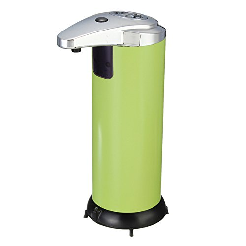 bluelover-stainless-steel-automatic-soap-dispenser-infrared-control-green