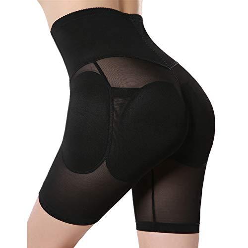 AMURAO Frauen Hohe Taille Control Panty Abnehmbare Aushöhlen Butt Lifter