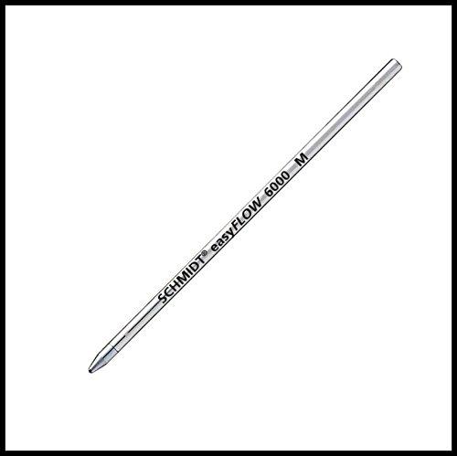 Schmidt easyflow 6000 Kugelschreiber-Minen, kurz, schwarz, 5 Stück