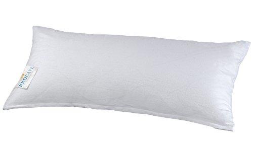 PROCAVE Feinflanell - Schutzbezug für Kissen in der Größe 40 x 80 cm Kissenbezug aus 100{b0df89ccabf2bc3f822f69c9261fff979acb5053b740f677232863301c937408} Baumwolle mit Reißverschluss - Made in Germany - schützt Das Kissen vor Verunreinigung
