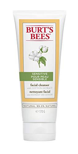 Burt\'s Bees Reinigungslotion für Empfindliche Haut mit Baumwollextrakt, 1er Pack (1 x 170 g)