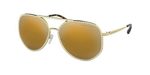 Ray-Ban Damen 0MK1039B Sonnenbrille, Shiny Pale Gold, 58