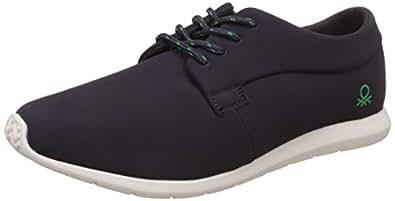 United Colors of Benetton Men's Navy Blue Sneakers - 11 UK/India (45 EU)