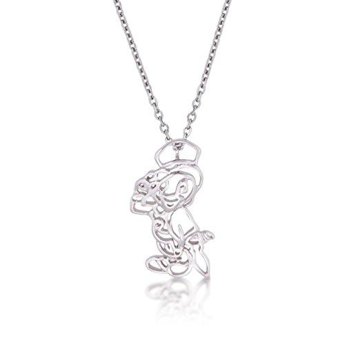 Disney Couture oro blanco Pepito Grillo esquema Character collar
