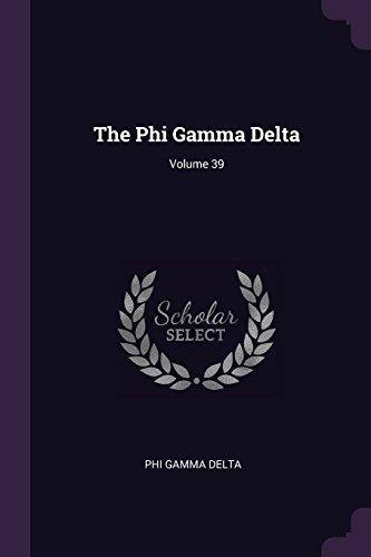 Volume 39 (Phi Gamma Delta)