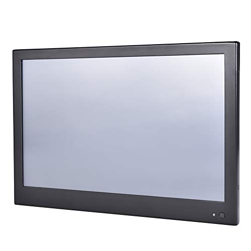 13.3 Inch Industrial Touch Panel PC,All in One Computer,4 Wire Resistive Touch Screen,Windows 7/10,Linux,Intel J1900,(Black),[HUNSN WD10],[3RS232/VGA/LAN/3USB2/1USB3/Fanless],(Barebone System) (Touch-screen-windows 7)