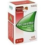 Nicorette 4 mg Freshfruit Kaugummi 105St