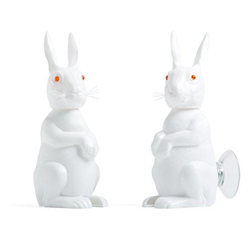 Hase mit Wackelkopf und Saugnapf (Halloween Bugs Bunny)