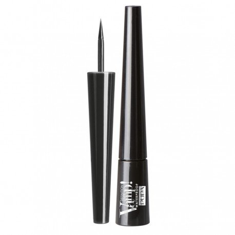 Vamp! Definition Liner Waterproof Eyeliner Tonalità 001 Glossy Black