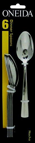 Dinner Spoons (6) : Oneida Nocha Stainless Steel Flatware - Dinner Spoons (6)