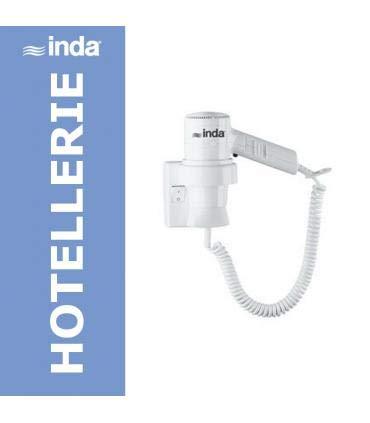 INDA A04520WW Asciugacapelli Hotellerie, Bianco