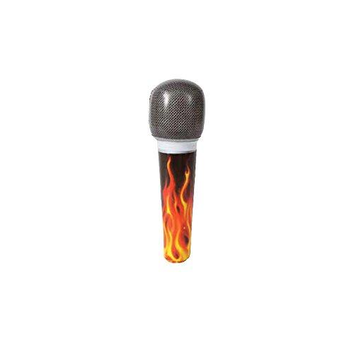 Unique Microfono Hinchable Rock Star