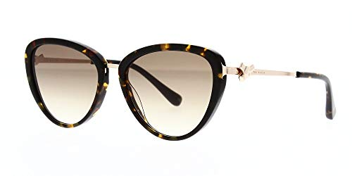 Ted Baker Damen Malin Sonnenbrille, Braun (Tortoise/Brown), 54.0