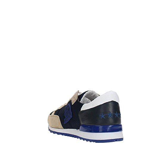 Invicta Unisex-Erwachsene Bicolor Low-Top Beige/Blue