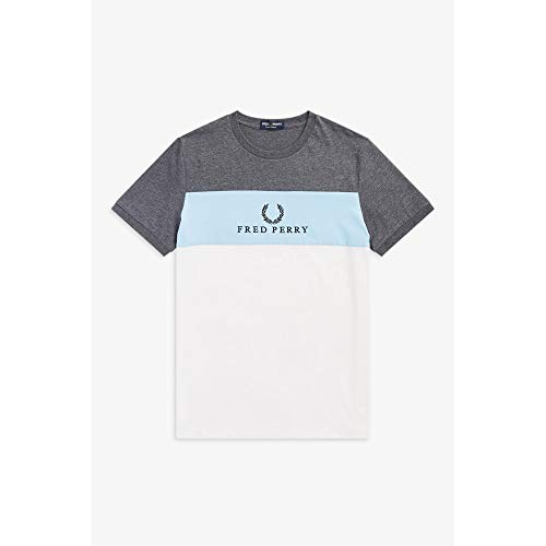 Fred Perry Embroidered Panel Tee