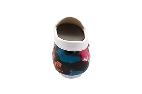 Confort - Sandales Compensées Pour Femmes Blanc (blanc)