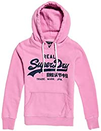 Superdry V Logo Sport Entry Hood Sudadera para Mujer