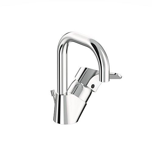 Vidima sevanext, stehend Einhebelmischer für Waschbecken mit hoher Rohr Auslauf und Click Technologie, firmaflow, Hebel