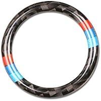 Key Start Stop Button Ring Kohlefaser Dekorative Ring Rahmen Für BMW 3er E90 / E92 / E93