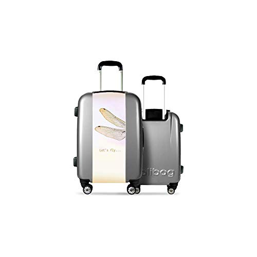 Valise CALIBAG (Taille M) Let's Fly Gris