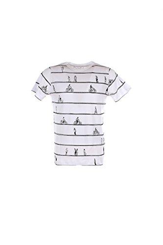 T-shirt Uomo Kaos L Bianco Gi2fi030 Autunno Inverno 2016/17