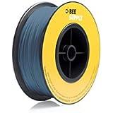 BEEVERYCREATIVE CBA110342 BEESUPPLY PLA Filament für 3D Drucker, 1,75 mm, 330 g, A112, Verkehrsblau - gut und günstig