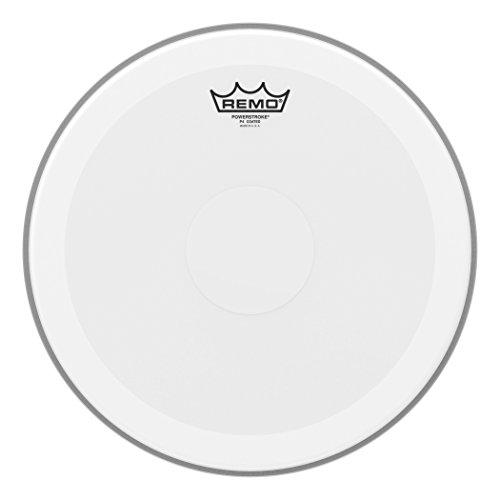 Remo P40114-C2 beschichtetes 35,6 cm Powerstroke 4 Schlagzeugfell - Clear Dot