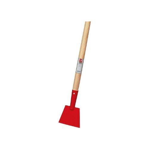 Roter Eisstößer aus Spezialstahl 150 x 120 mm - inklusive Holzstiel