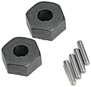 """Traxxas 1654""""Hex/Stub Axle Pins Rueda Hub Modelo Coche Piezas, 2,5 x 12 mm"""