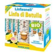 Linfa di Betulla Box 4x700ml Linfasnell by Nordland gusto Limone
