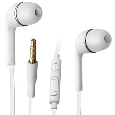 Price comparison product image Handsfree Headphones Earphones Samsung Galaxy S5 Note 3 S4 Tab Galaxy Ace White