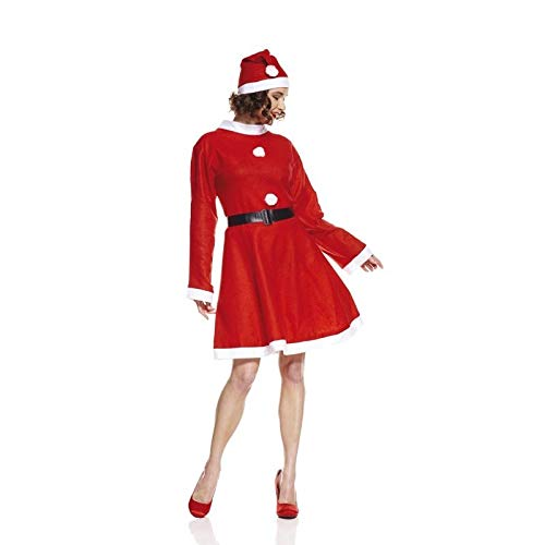 Miss Kostüm China - Unbekannt AEC-aq02010/M-Kostüm Miss Santa wirtschaftliche Größe M