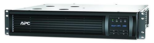 APC Smart-UPS SMT-SmartConnect - SMT1000RMI2UC - Unterbrechungsfreie Stromversorgung 1.000VA (Rackeinbau 2U, Cloud-monitoring fähig, 4 Ausgänge IEC-C13)
