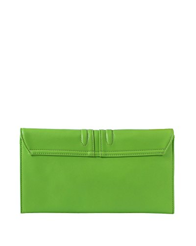 JEZZELLE , Damen Clutch One Size grün