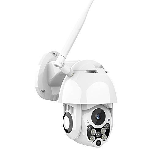Auto Tracking Outdoor PTZ IP Kamera 1080P Speed Dome Überwachungskameras wasserdicht Wireless WiFi Sicherheit CCTV,US (Kamera-mikrofon-detektor)
