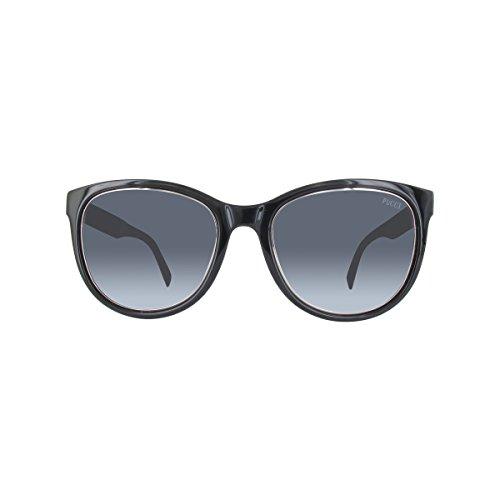 Emilio pucci ep0027 05b 53, occhiali da sole unisex adulto, nero