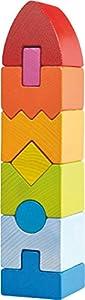 HABA 301690 Juguete de construcción - Juguetes de construcción (Stacking Blocks, Multicolor, 1 yr(s), 9 pc(s), Boy/Girl, Children)