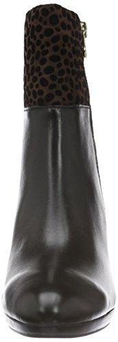 Caprice 25340, Bottes Classiques Femme Noir (Black Multi 11)