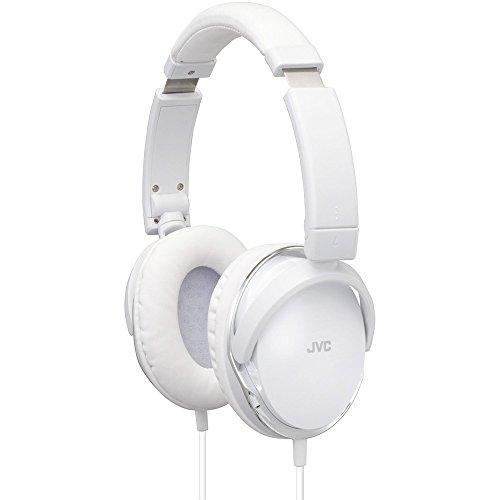JVC HA-S660-W-E Over-Ear-Kopfhörer mit Transportmöglichkeiten und Klang weiß Jvc Home Audio